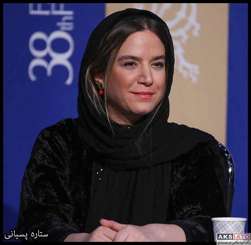 بازیگران جشنواره فیلم فجر  ستاره پسیانی در روز هشتم سی و هشتمین جشنواره فیلم فجر (۶ عکس)