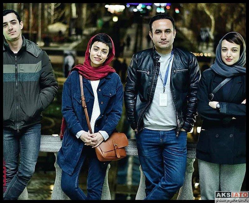 بازیگران جشنواره فیلم فجر  عکس های سوگل خلیق در سی و هشتمین جشنواره فیلم فجر
