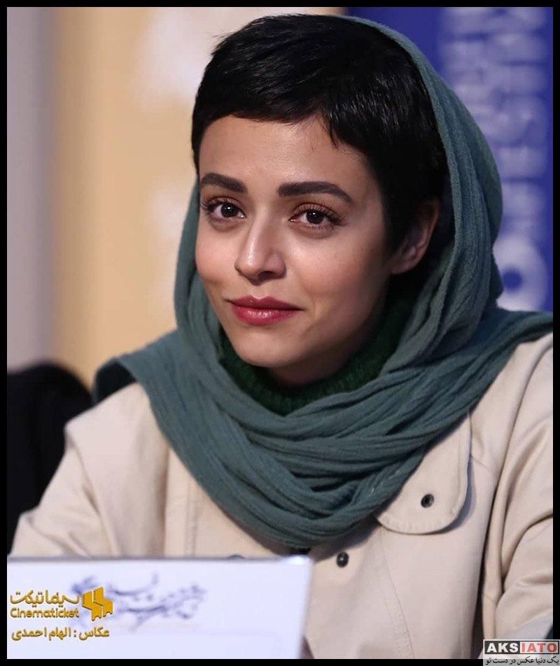 بازیگران جشنواره فیلم فجر  سوگل خلیق در روز ششم سی و هشتمین جشنواره فیلم فجر (۶ عکس)