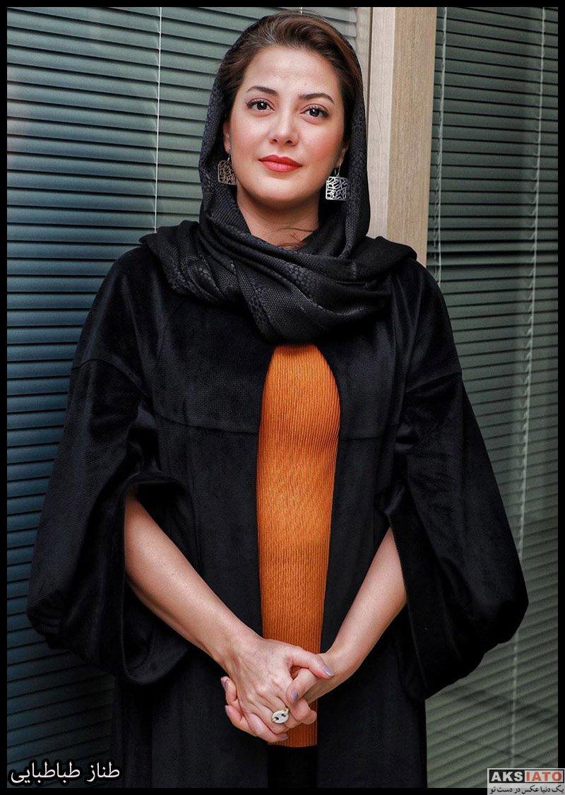 بازیگران جشنواره فیلم فجر  عکس های طناز طباطبایی در سی و هشتمین جشنواره فیلم فجر