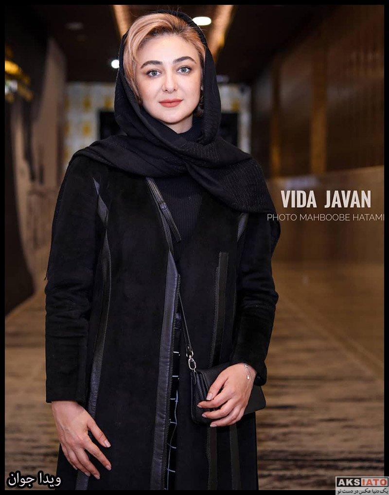 بازیگران جشنواره فیلم فجر  ویدا جوان در روز پنجم سی و هشتمین جشنواره فیلم فجر (۶ عکس)