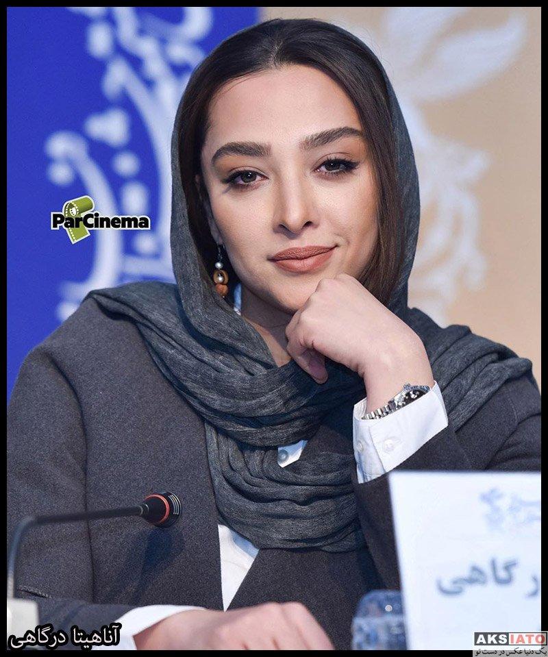 بازیگران جشنواره فیلم فجر  آناهیتا درگاهی در روز دهم سی و هشتمین جشنواره فیلم فجر (6 عکس)