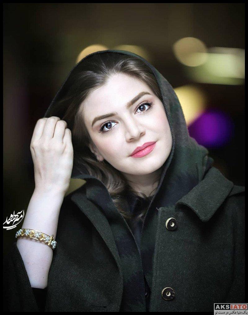 بازیگران بازیگران زن ایرانی  آوا دارویت در اکران خصوصی فیلم چهل و هفت (۳ عکس)