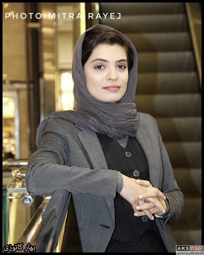 بازیگران بازیگران زن ایرانی  بهار کاتوزی در اکران فیلم جهان با من برقص (3 عکس)