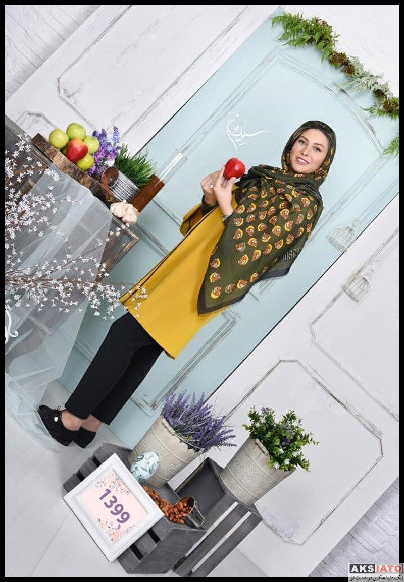 بازیگران بازیگران زن ایرانی  عکس های آتلیه فریبا نادری ویژه نوروز 99