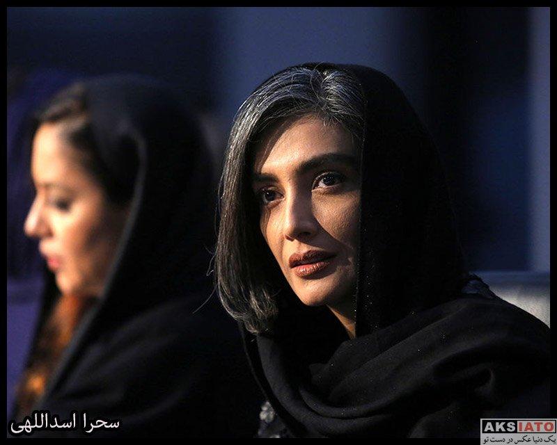 بازیگران جشنواره فیلم فجر  لیلا زارع در روز دهم سی و هشتمین جشنواره فیلم فجر (6 عکس)