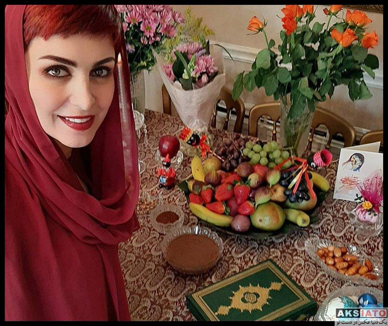 بازیگران زن ایرانی  عکس های ماه چهره خلیلی ویژه نوروز 98