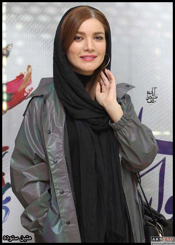 بازیگران جشنواره فیلم فجر  متین ستوده در روز نهم سی و هشتمین جشنواره فیلم فجر (3 عکس)