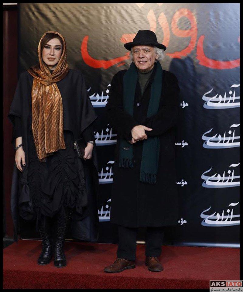 بازیگران بازیگران زن ایرانی  عکس های نسیم ادبی در اکران مردمی فیلم بی وزنی