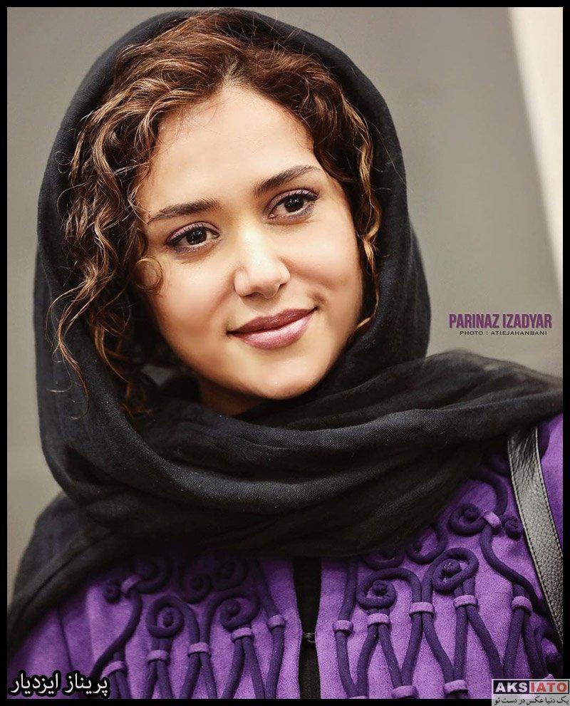 بازیگران جشنواره فیلم فجر  پریناز ایزدیار در روز دهم سی و هشتمین جشنواره فیلم فجر (4 عکس)