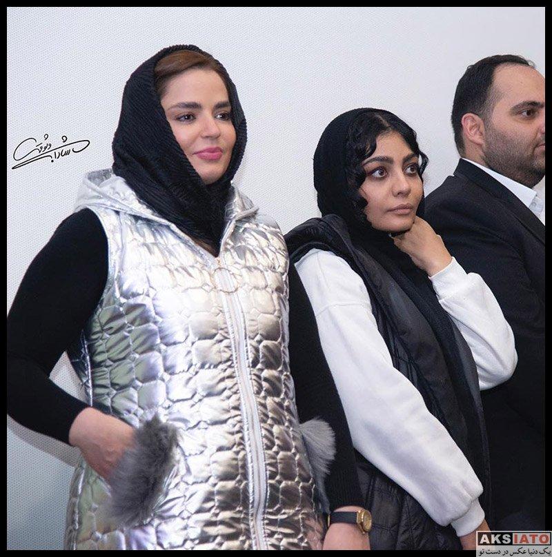 بازیگران بازیگران زن ایرانی  صحرا اسداللهی در اکران خصوصی فیلم چهل و هفت (۳ عکس)