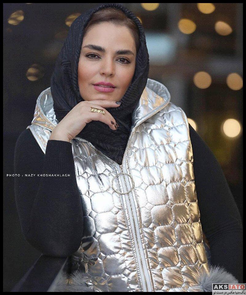بازیگران بازیگران زن ایرانی  سپیده خداوردی در اکران خصوصی فیلم چهل و هفت (3 عکس)