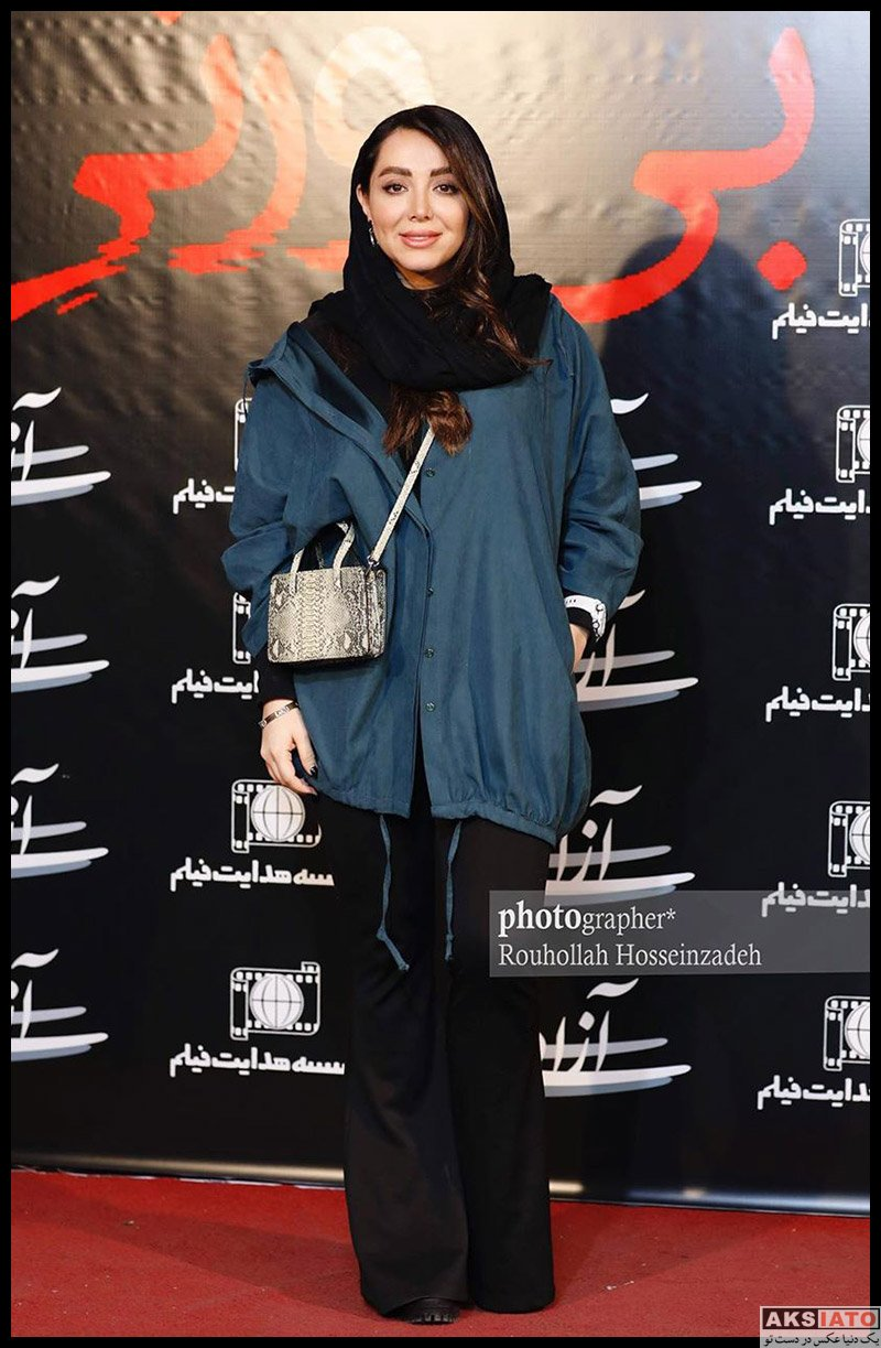 بازیگران بازیگران زن ایرانی  عکس های سپیده مرادپور در اکران مردمی فیلم بی وزنی