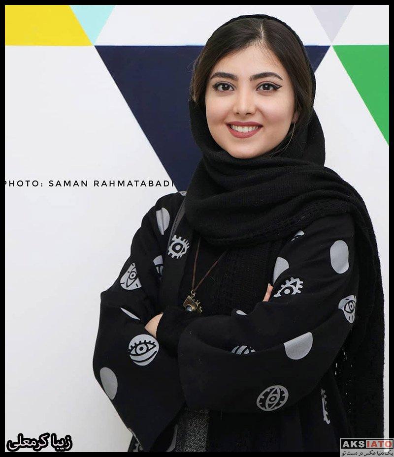 بازیگران بازیگران زن ایرانی  زیبا کرمعلی در اکران مردمی انیمیشن شیر شاه (4 عکس)