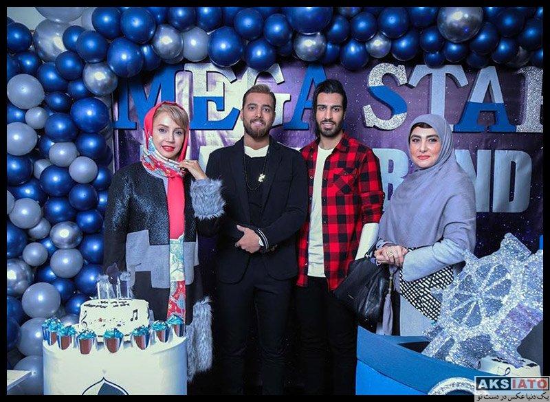 خوانندگان  تولد امیر مقاره خواننده ماکان بند با حضور خانم بازیگر (3 عکس)
