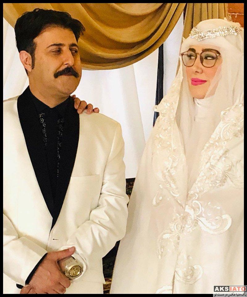 بازیگران بازیگران زن ایرانی  عاطفه باقری بازیگر نقش همسر رحمت در پایتخت 6 (7 عکس)