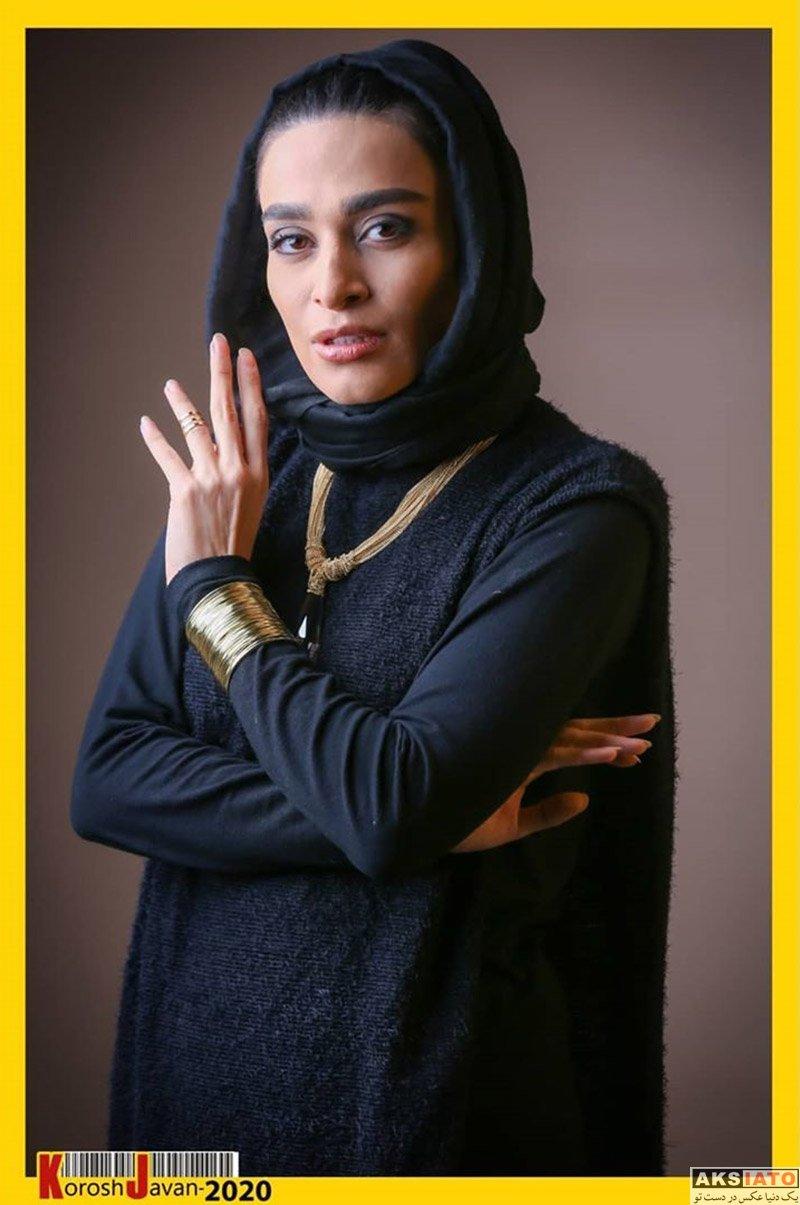 بازیگران بازیگران زن ایرانی  اندیشه فولادوند در برنامه دورهمی خرداد 99 (3 عکس)