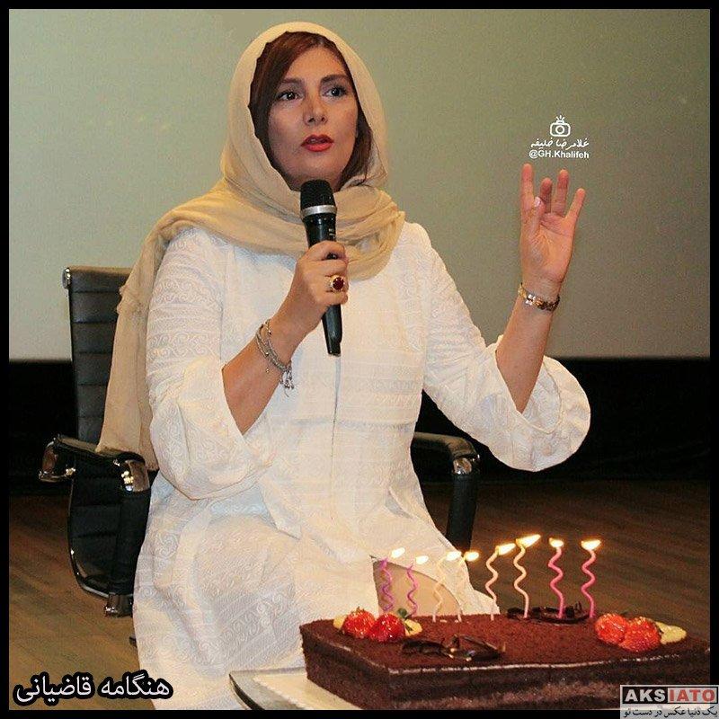 بازیگران بازیگران زن ایرانی  هنگامه قاضیانی بازیگر نقش لیلا کوهی در سریال هم گناه (۸ عکس)