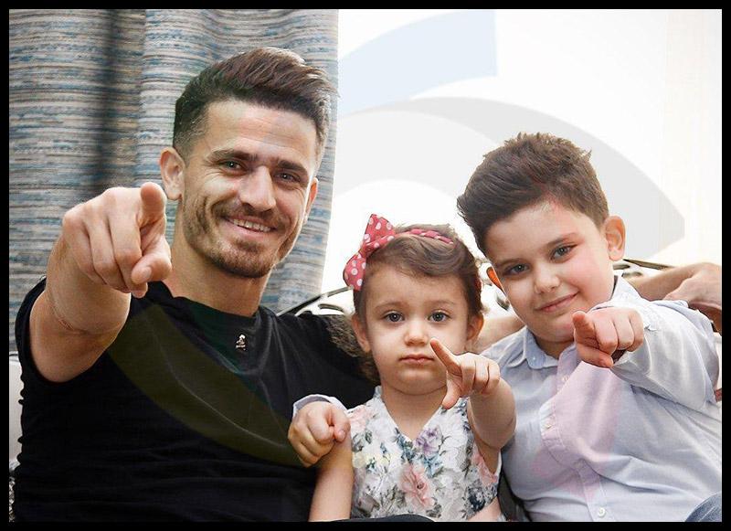 ورزشکاران ورزشکاران مرد  وریا غفوری در کنار فرزندان در خانه لاکچری اش (8 عکس)