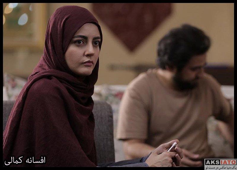 بازیگران بازیگران زن ایرانی  افسانه کمالی بازیگر نقش فرزانه در سریال سرباز (۸ عکس)