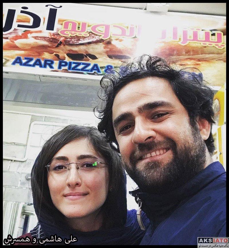 علی هاشمی بازیگر سریال سرباز و همسرش پگاه (۶ عکس) - عکسیاتو
