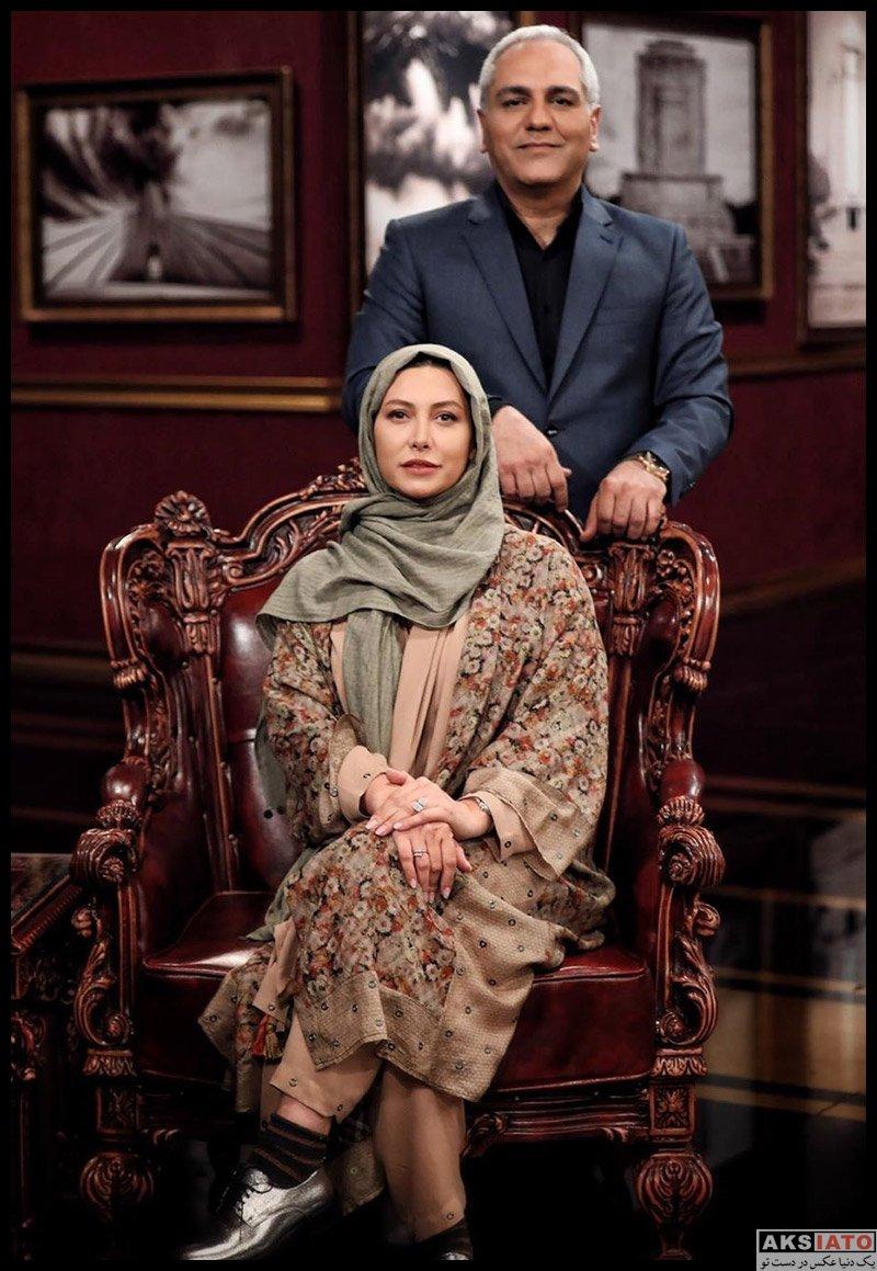 بازیگران بازیگران زن ایرانی  فریبا نادری در برنامه دورهمی خرداد ۹۹ (۳ عکس)