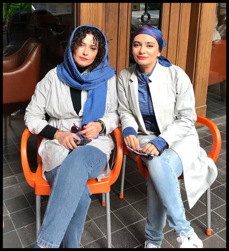 بازیگران بازیگران زن ایرانی  لادن مستوفی بازیگر نقش ستاره در سریال خواب زده (8 عکس)