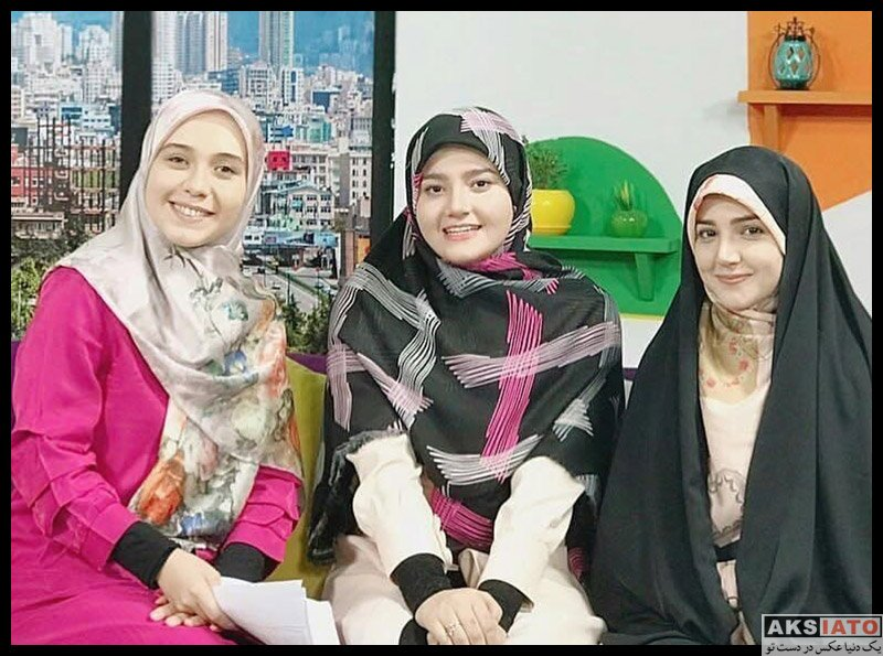 بازیگران مجریان  فاطمه محمدی فر مجری شبکه امید (6 عکس)