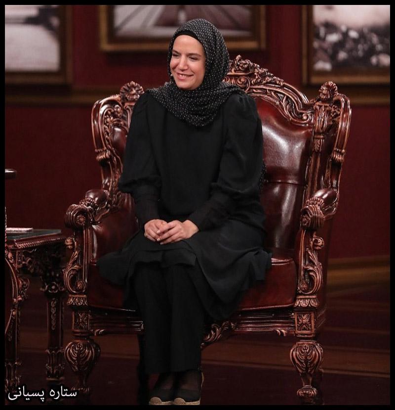 بازیگران بازیگران زن ایرانی  ستاره پسیانی در برنامه دورهمی (4 عکس)