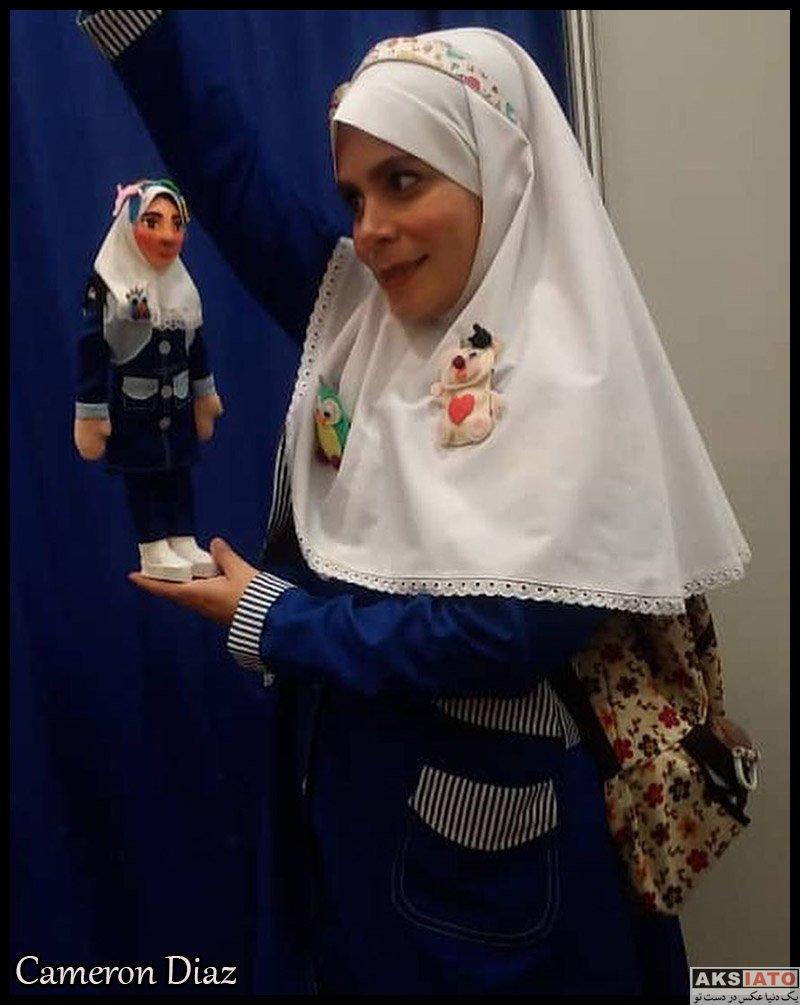 بازیگران بازیگران زن ایرانی  فاطمه امینی بازیگر نقش فروغ در سریال آخر خطر (8 عکس)