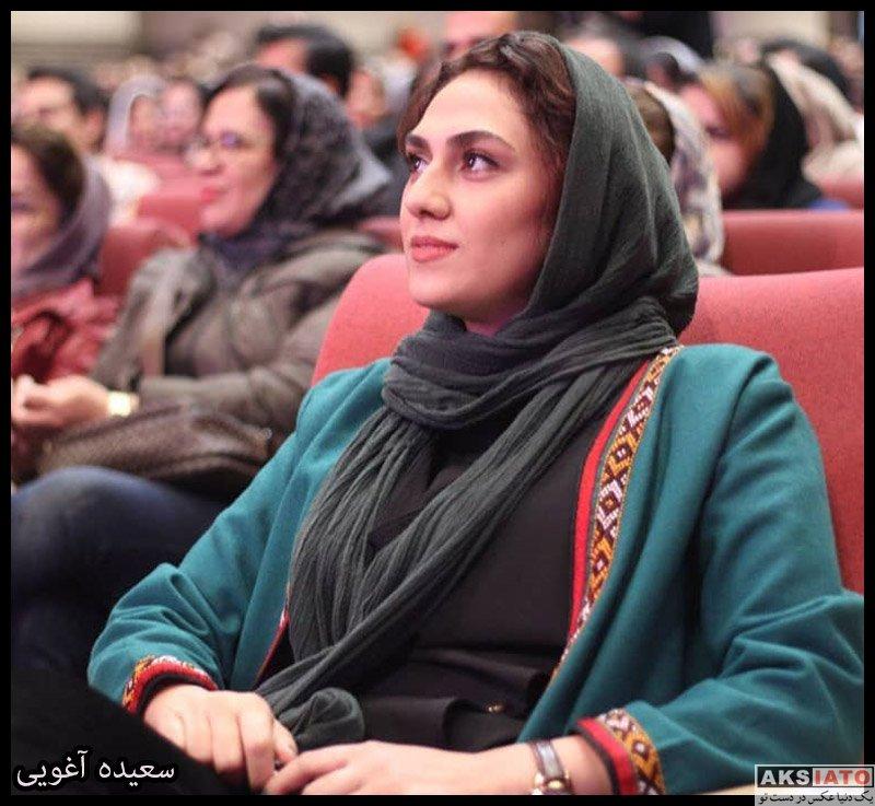 بازیگران بازیگران زن ایرانی  سعیده آغویی بازیگر سریال آخر خطر (8 عکس)