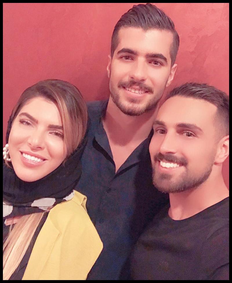 خانوادگی ورزشکاران مرد  سعید عزت اللهی و خواهرش ساغر عزت اللهی (4 عکس)