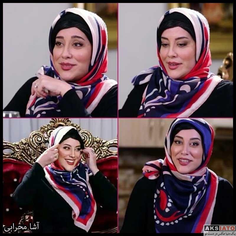 بازیگران بازیگران زن ایرانی  آشا محرابی بازیگر نقش سیما گلی در سریال موچین (8 عکس)