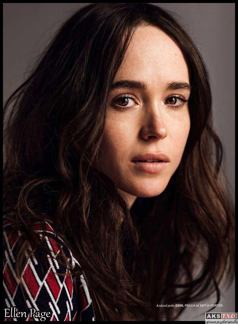 بازیگران بازیگران زن خارجی  الین پیج Ellen Page (6 عکس)