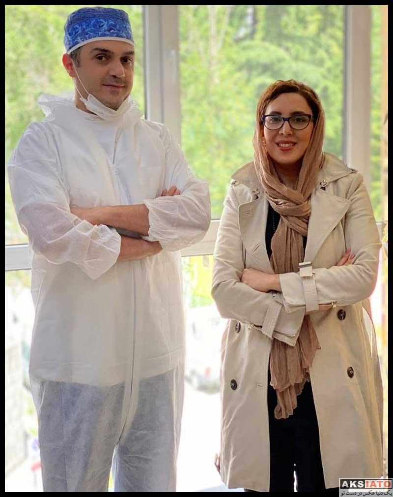 بازیگران بازیگران زن ایرانی  لیلا بلوکات در مطب دکتر چلبیانلو دندانپزشک معروف (3 عکس)