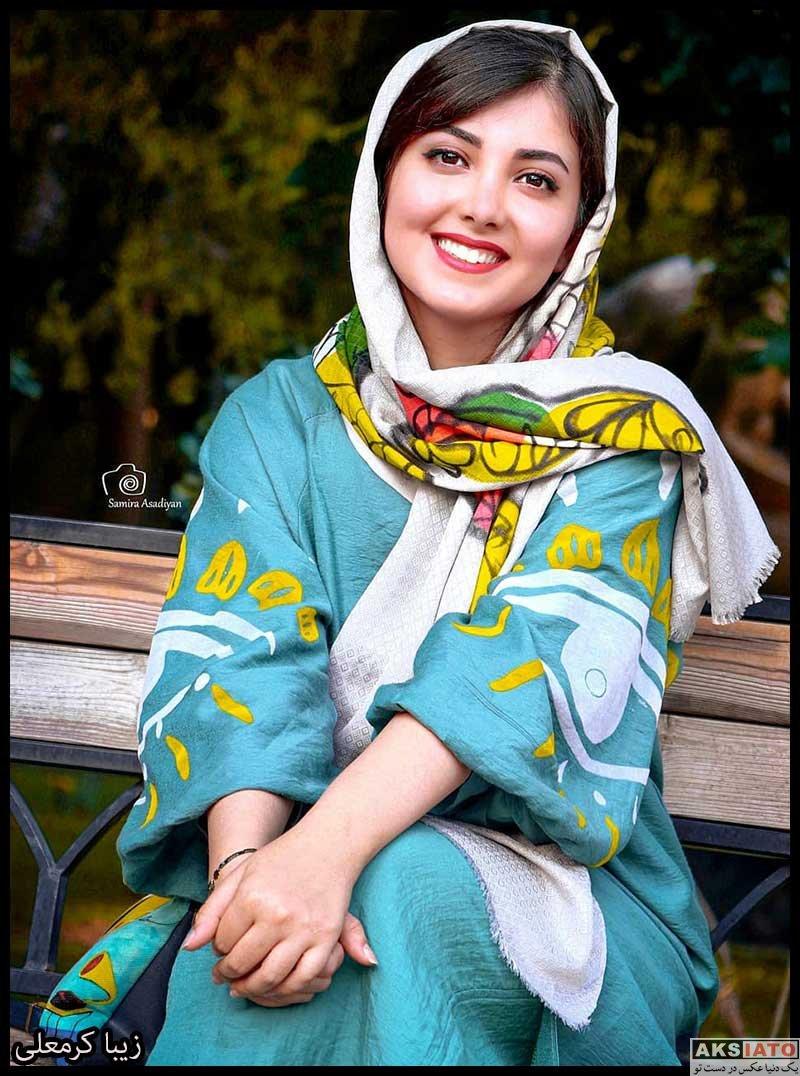 بازیگران بازیگران زن ایرانی  زیبا کرمعلی در نمایشگاه عکس فیلم درخت گردو (۴ عکس)