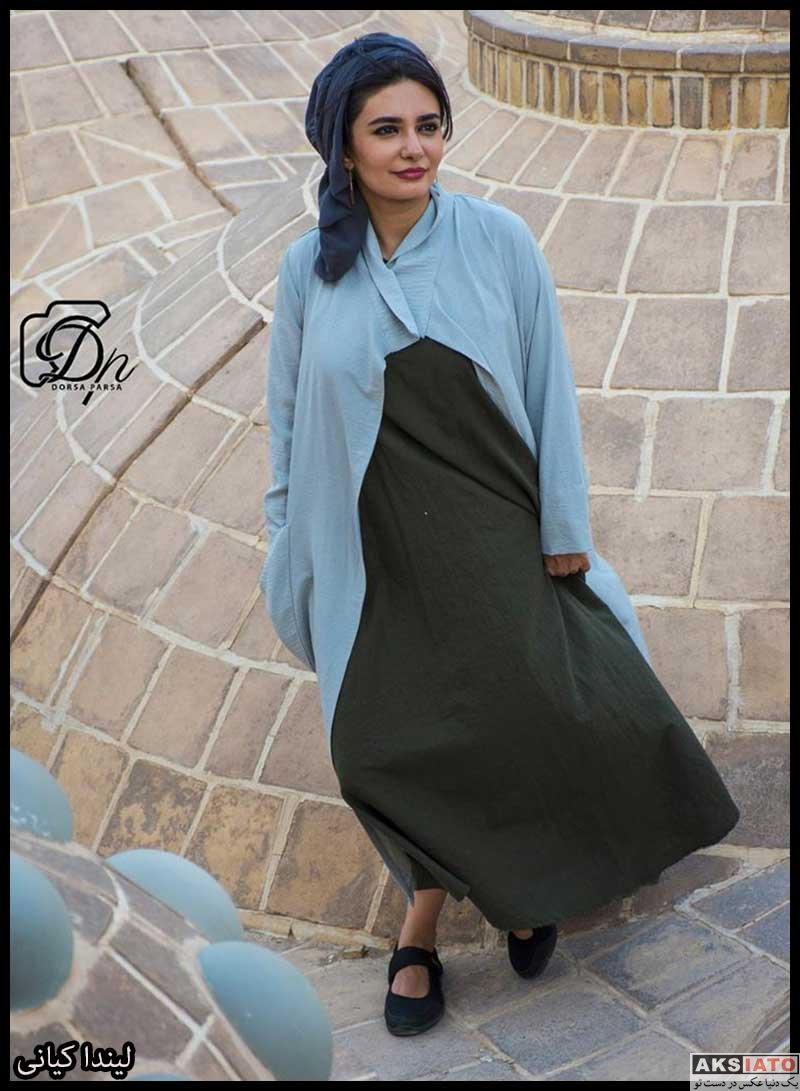 بازیگران بازیگران زن ایرانی  لیندا کیانی در خانه عامری های کاشان (۴ عکس)