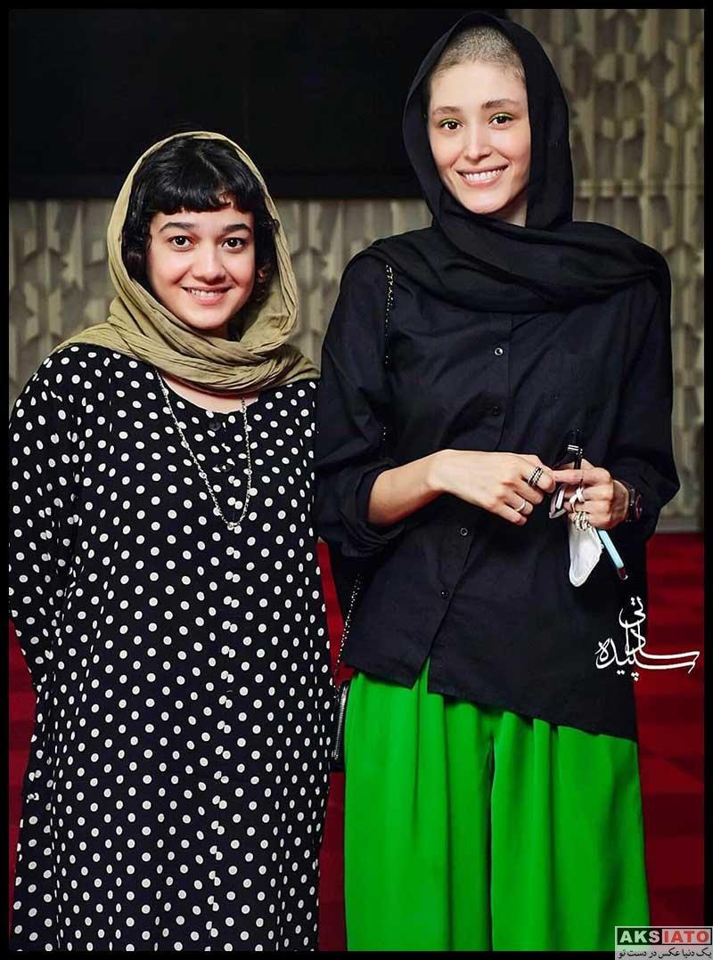 بازیگران بازیگران زن ایرانی  صدف عسگری در اکران خصوصی فیلم یلدا (3 عکس)