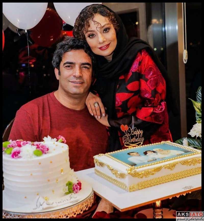 خانوادگی  یکتا ناصر در جشن تولد 48 سالگی همسرش (3 عکس)