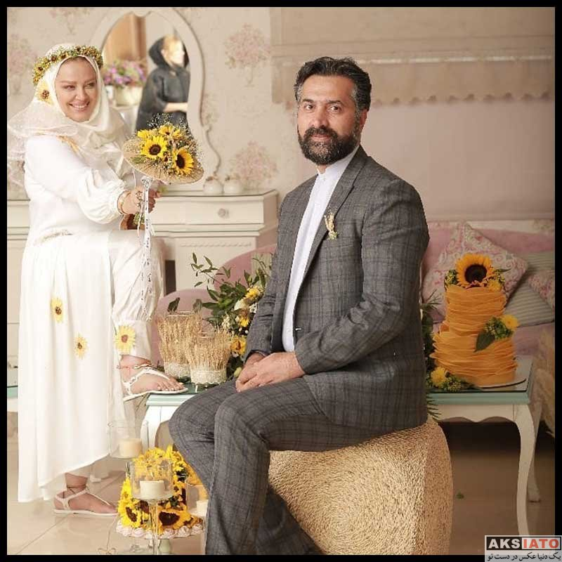 عکس آتلیه و استودیو  جشن سومین سالگرد ازدواج بهاره رهنما (4 عکس)