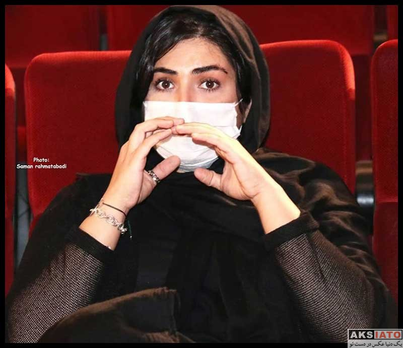 بازیگران بازیگران زن ایرانی  باران کوثری در نشست خبری فیلم بی حسی موضعی (4 عکس)