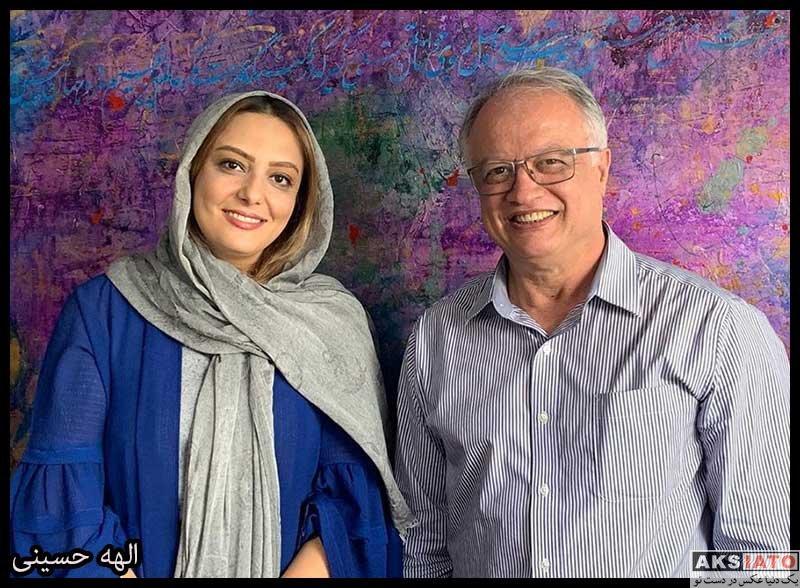 بازیگران بازیگران زن ایرانی  الهه حسینی بازیگر سریال دیوار (۶ عکس)