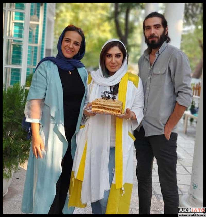 بازیگران بازیگران زن ایرانی جشن تولد ها  نسیم ادبی در جشن تولد 44 سالگی اش (4 عکس)