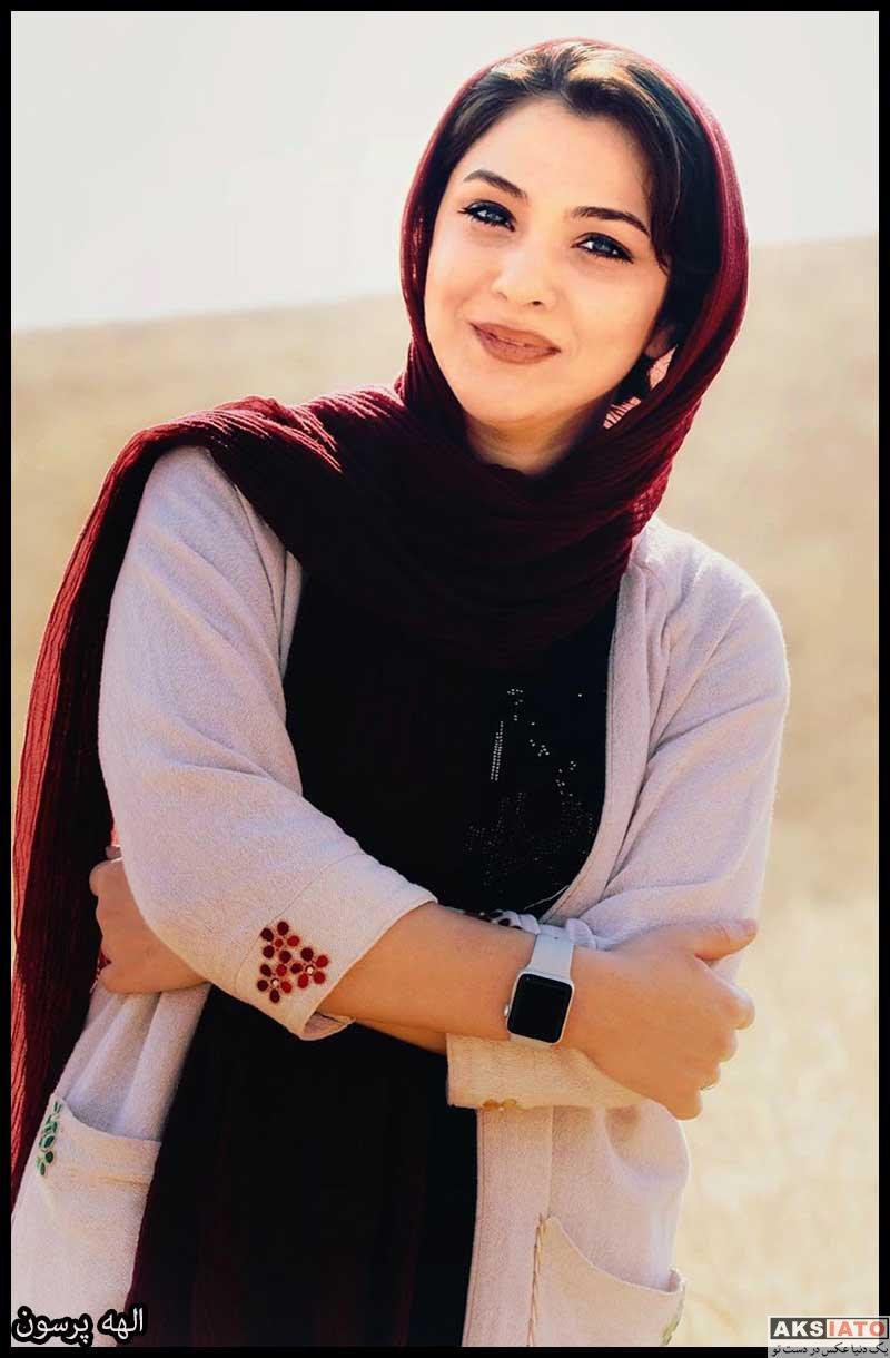 بازیگران مجریان  الهه پرسون مجری برنامه زعفران (6 عکس)