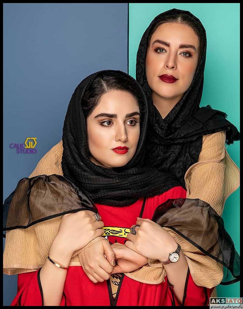 عکس های آتلیه هانیه غلامی در پاییز ۹۹