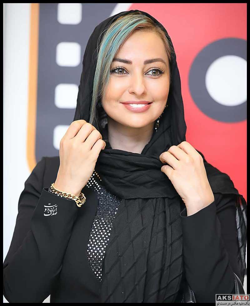 بازیگران بازیگران زن ایرانی  نفیسه روشن در اکران مردمی فیلم پیشی میشی (4 عکس)