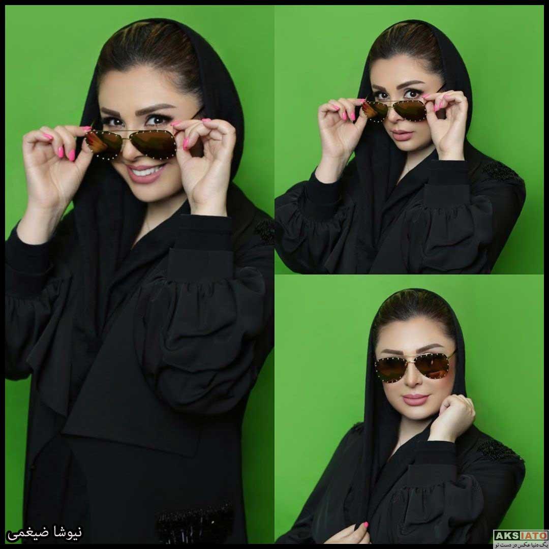 بازیگران بازیگران زن ایرانی  عکس های نیوشا ضیغمی در تابستان و پاییز 99
