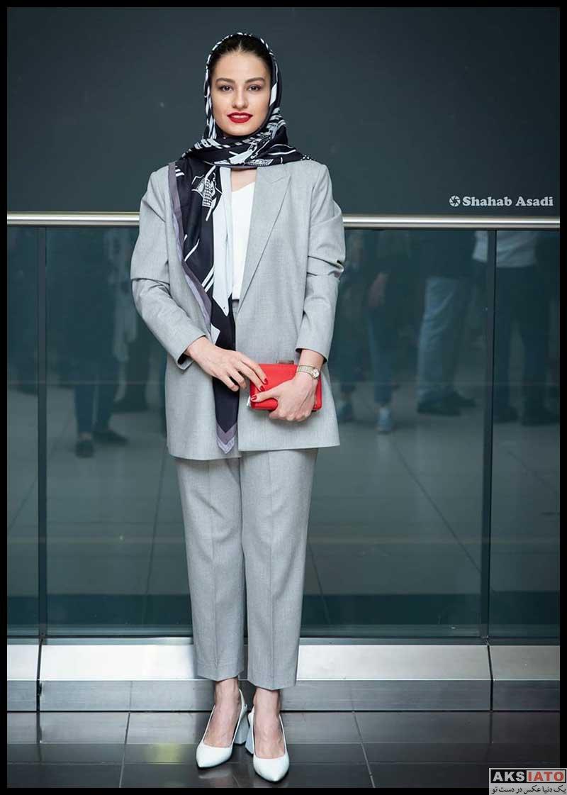بازیگران بازیگران زن ایرانی  عکس های شبنم گودرزی در اکران مردمی فیلم آبادان یازده ۶۰