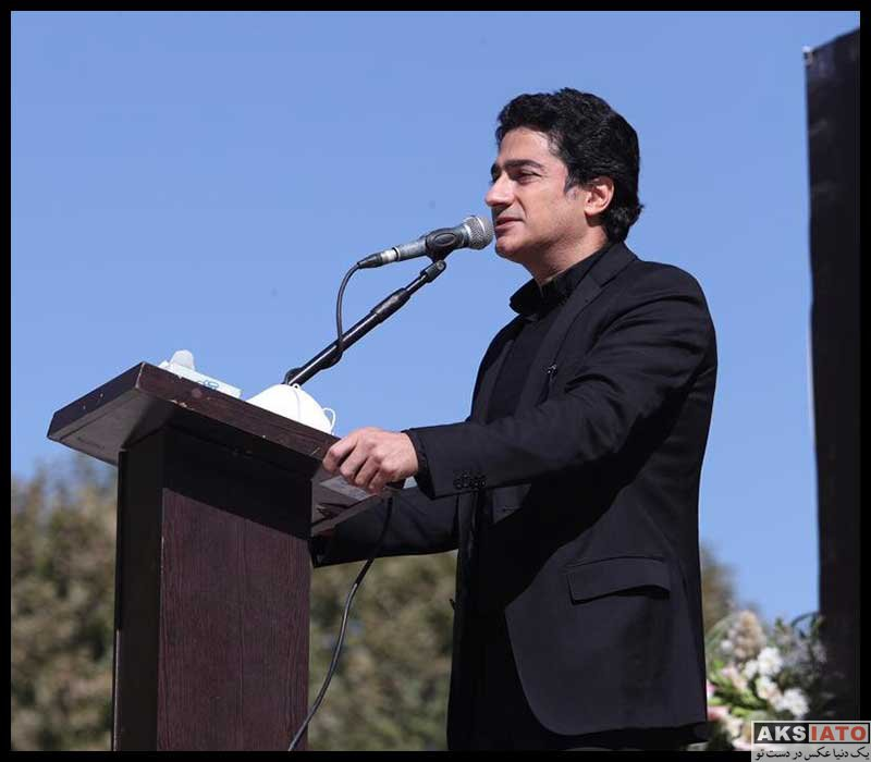 بازیگران درگذشتگان  مراسم خاکسپاری استاد محمدرضا شجریان (20 عکس)