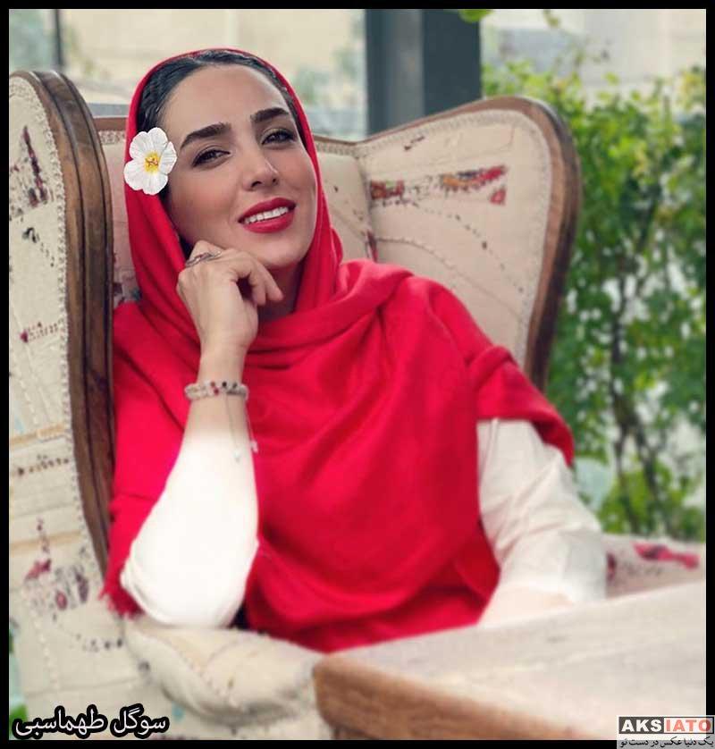 بازیگران بازیگران زن ایرانی  سوگل طهماسبی بازیگر نقش ثریا در سریال نجلا (6 عکس)